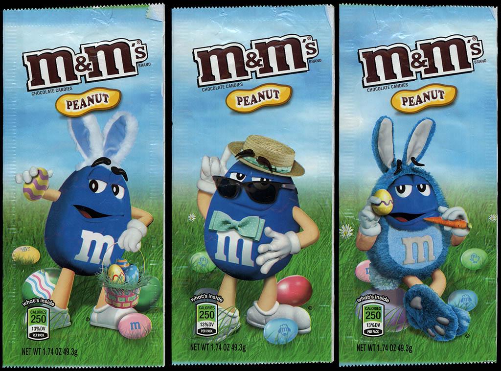 Mars - M&M's Peanut Easter holiday packs - Blue - 2012-2013
