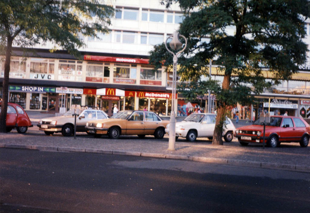 McDonalds in West Berlin - July 1990