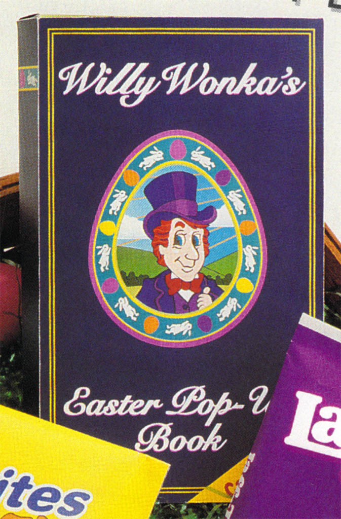 Willy Wonkas Easter Pop-Up book for Easter 1996