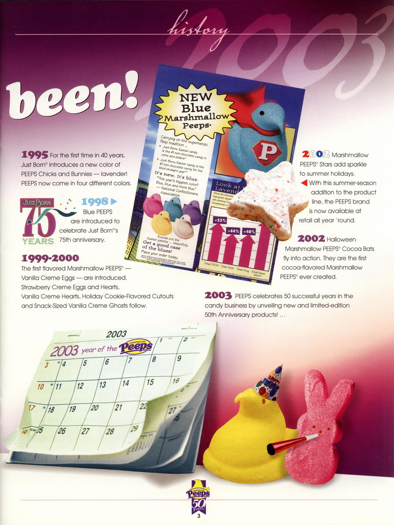 Peeps 50th Anniversary Brochure Page 04