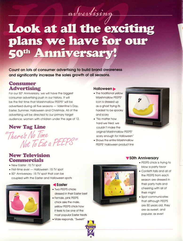 Peeps 50th Anniversary Brochure Page 05