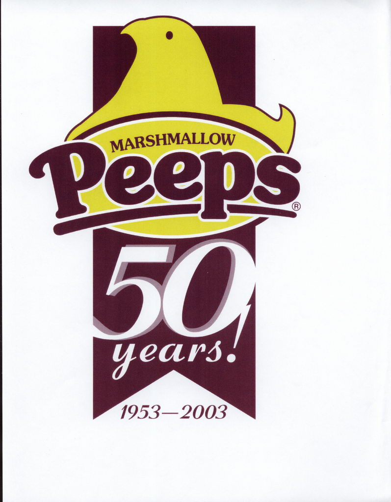 Peeps 50th Anniversary Decades Graphics -  Title