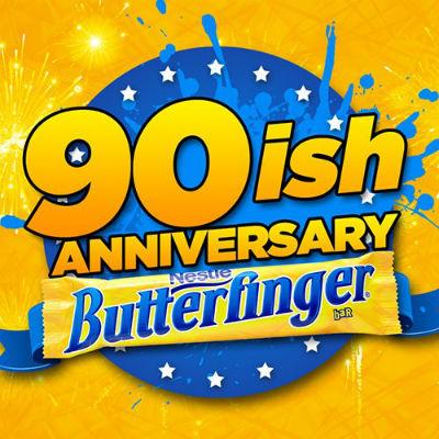 Butterfinger-90ish-Anniversary Logo
