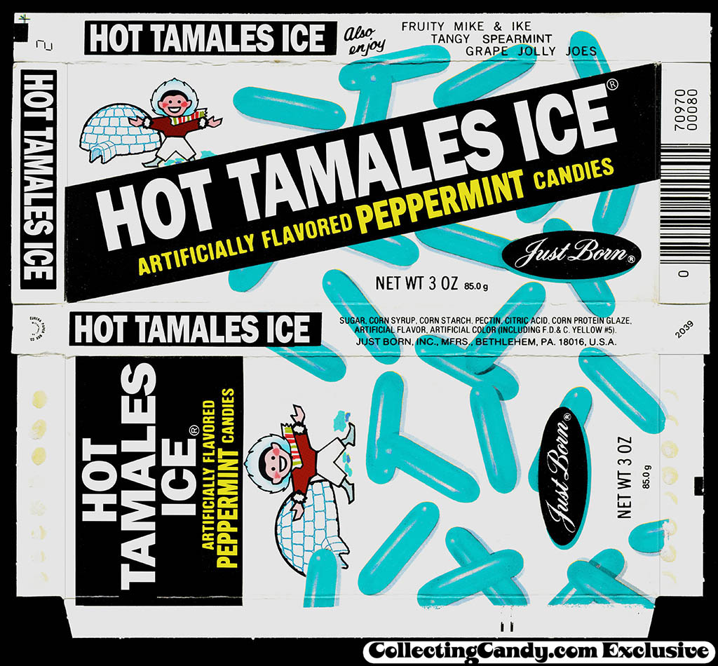 1970's Hot Tamales Ice - April Fools Day candy box