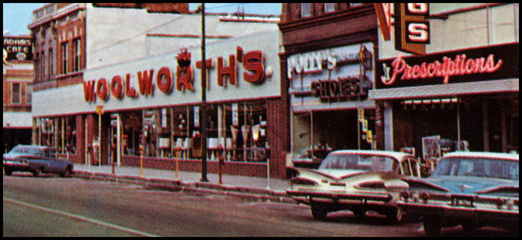 My Childhood Woolworth's - Circa 1960's