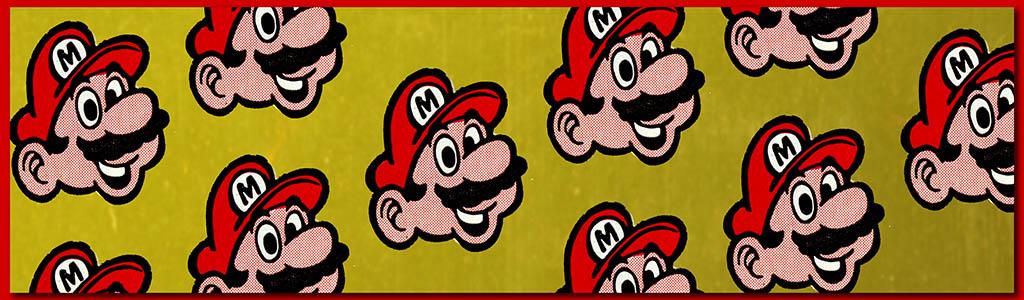 CC_Super Mario TITLE PLATE