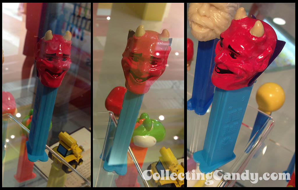 Pez - Devil Pez dispenser prototype - on display at PEZ Visitor's Center - Orange,  Connecticuit