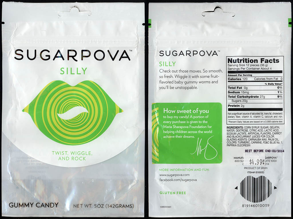 Sugarpova - Silly - gummy candy package - 2013