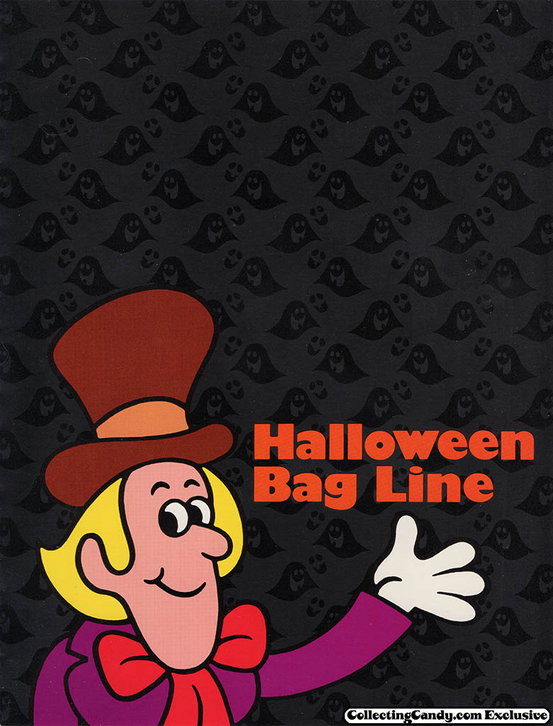1984 Willy Wonka Halloween Bag Line Brochure - Page 01
