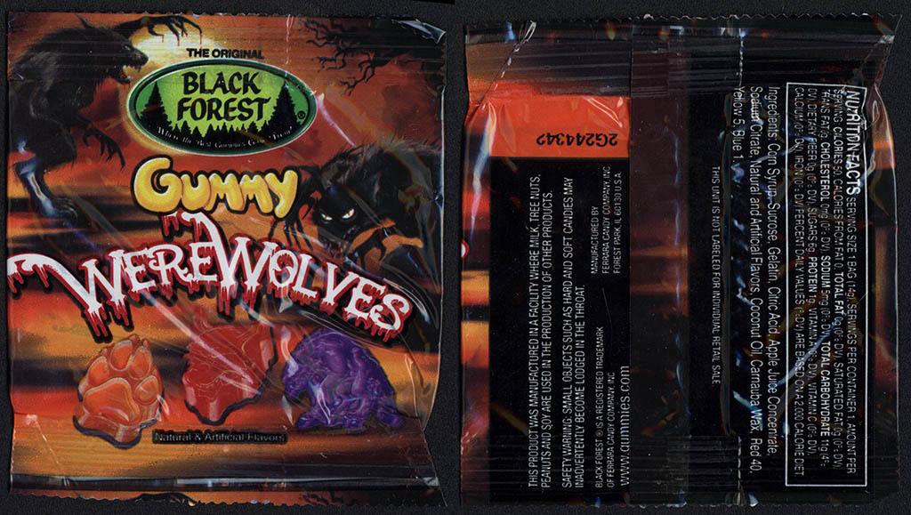 Black Forest - Gummy Werewolves - Halloween Fun-Pack - 2012