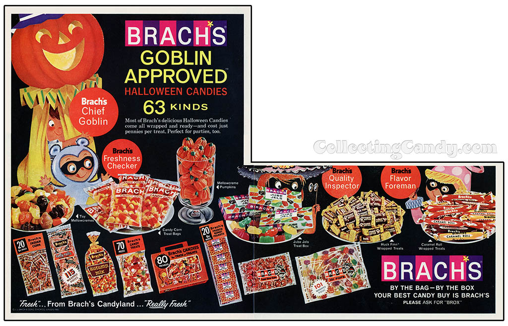 Brachs - Goblin Approved - magazine ad - 1965
