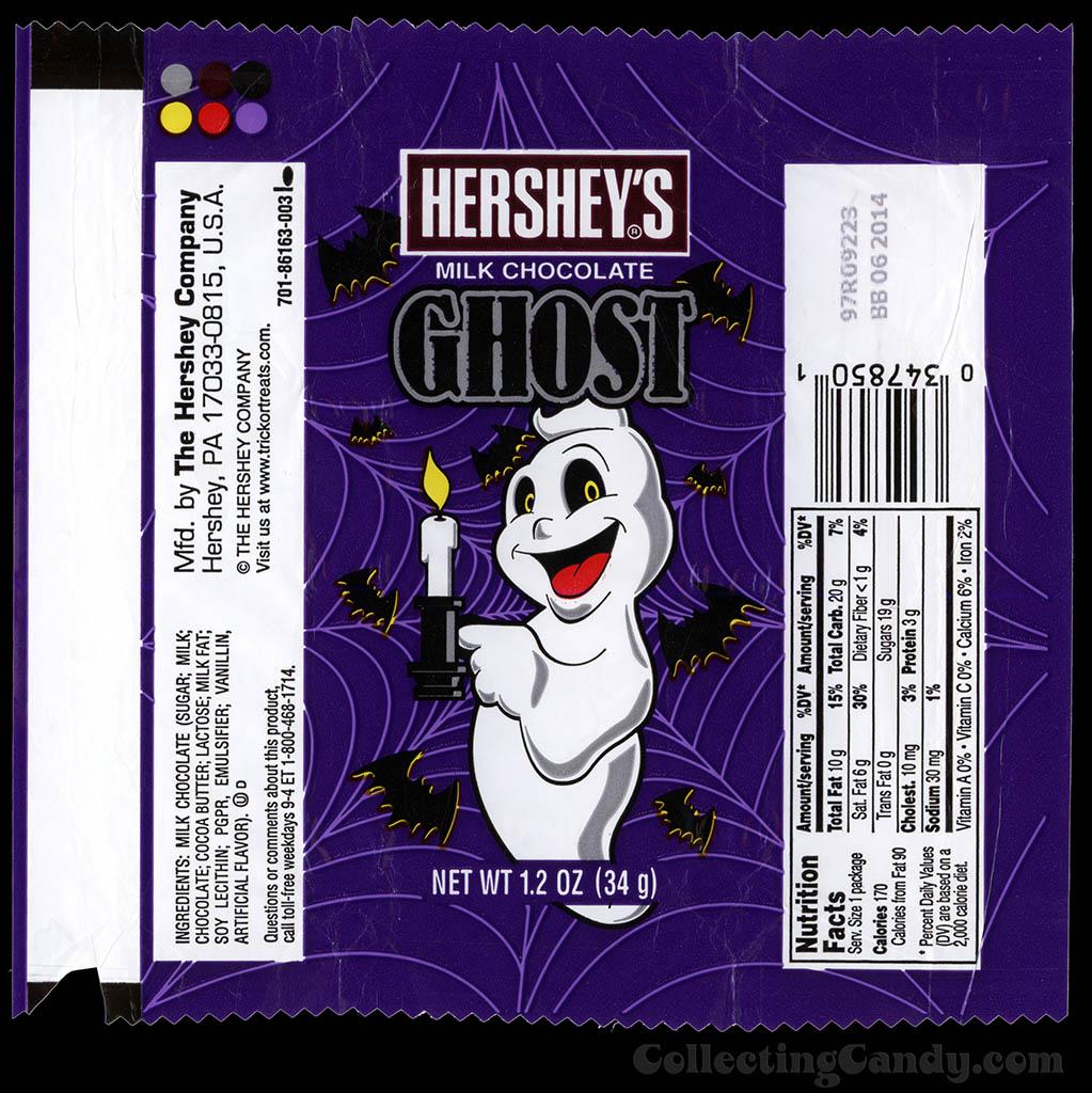 Hershey's - Milk Chocolate Ghost - new for Halloween 2013
