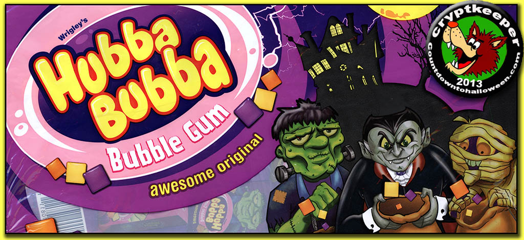 CC_Hubba Bubba Halloween bubble gum boxes TITLE PLATE