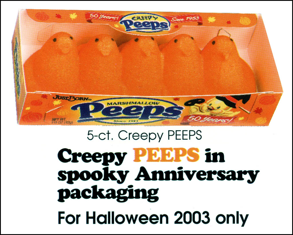 Just Born - Halloween Creepy Peeps catalog image - 2003