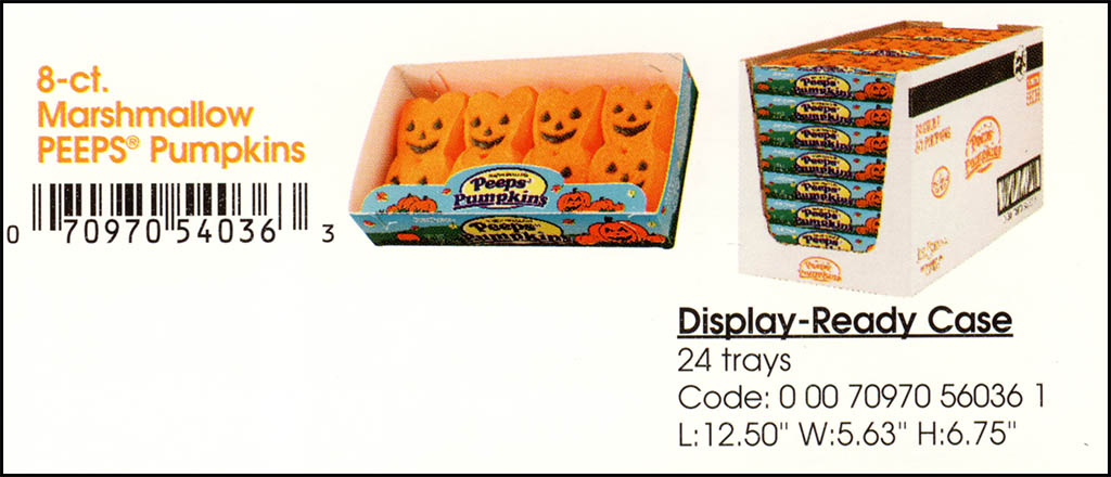 Just Born - Halloween Peeps Pumpkins catalog image - 2003