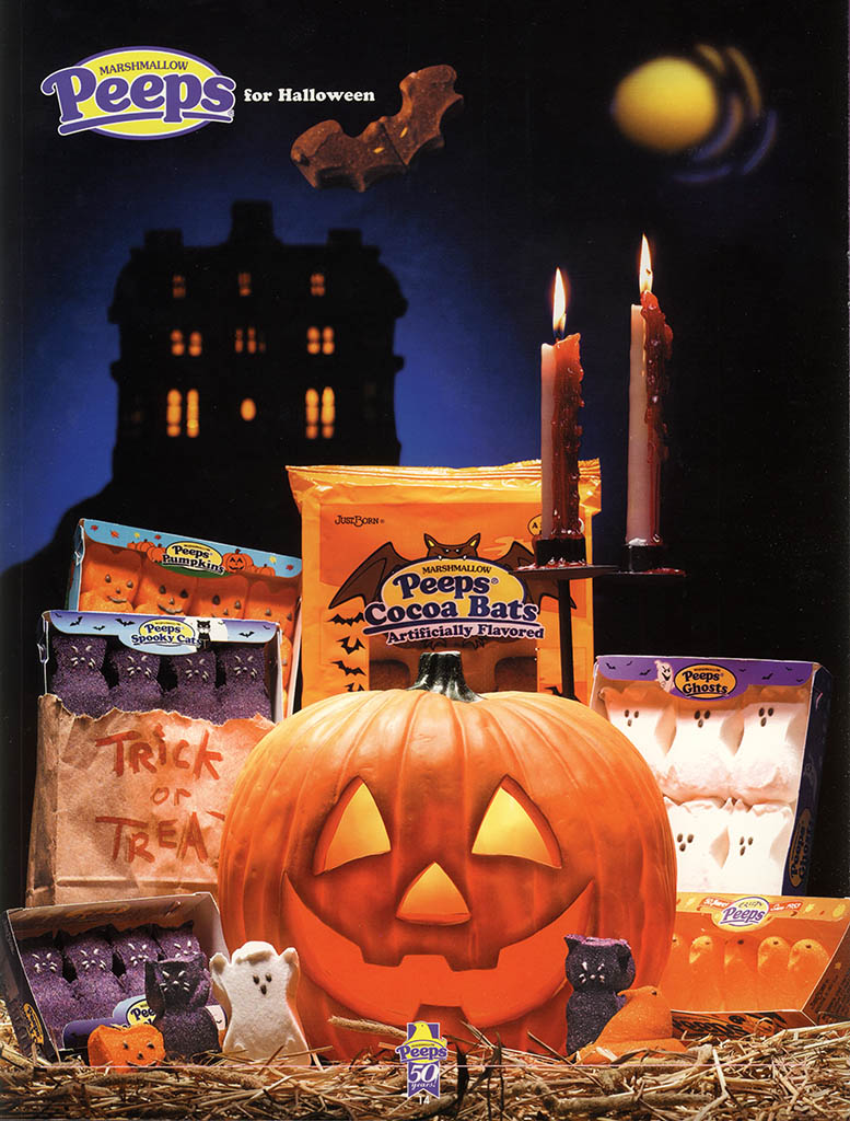 Just Born - Peeps 50th Anniversary Brochure - Halloween Peeps - 2003