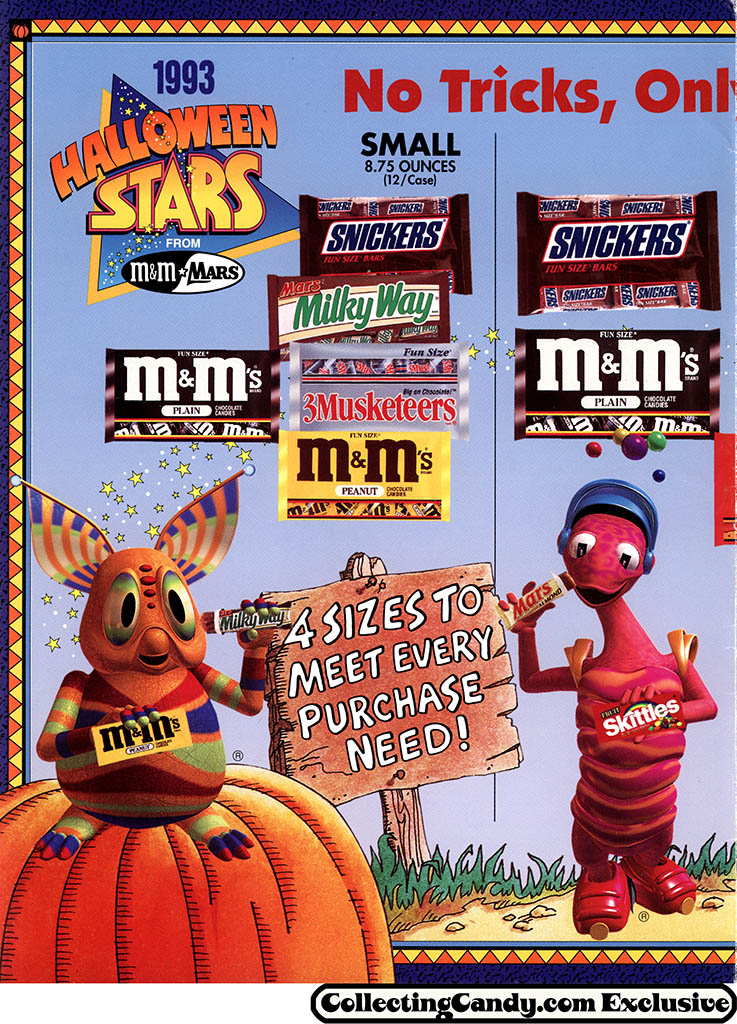 M&M_Mars_1993_Halloween Stars promotional brochure - page 02