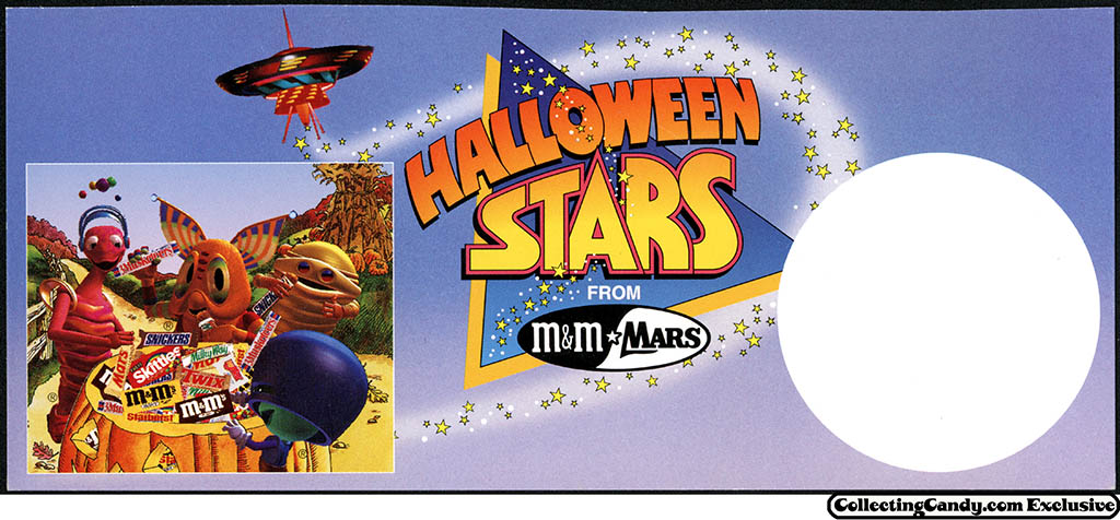 M&M_Mars_1993_Halloween Stars promotional price card