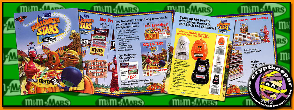 M&M/Mars' 1993 Halloween Stars Promotional Brochure – And The Last ...