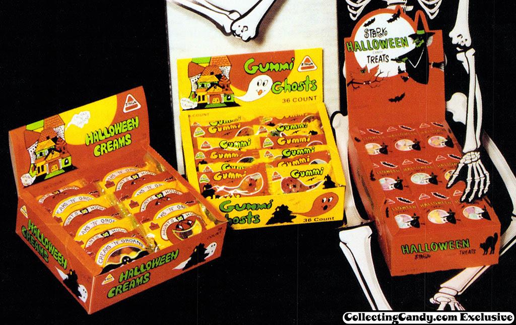 Stark - Halloween Creams - Gummi Ghosts - Halloween Treats - trade ad close-up - 1985