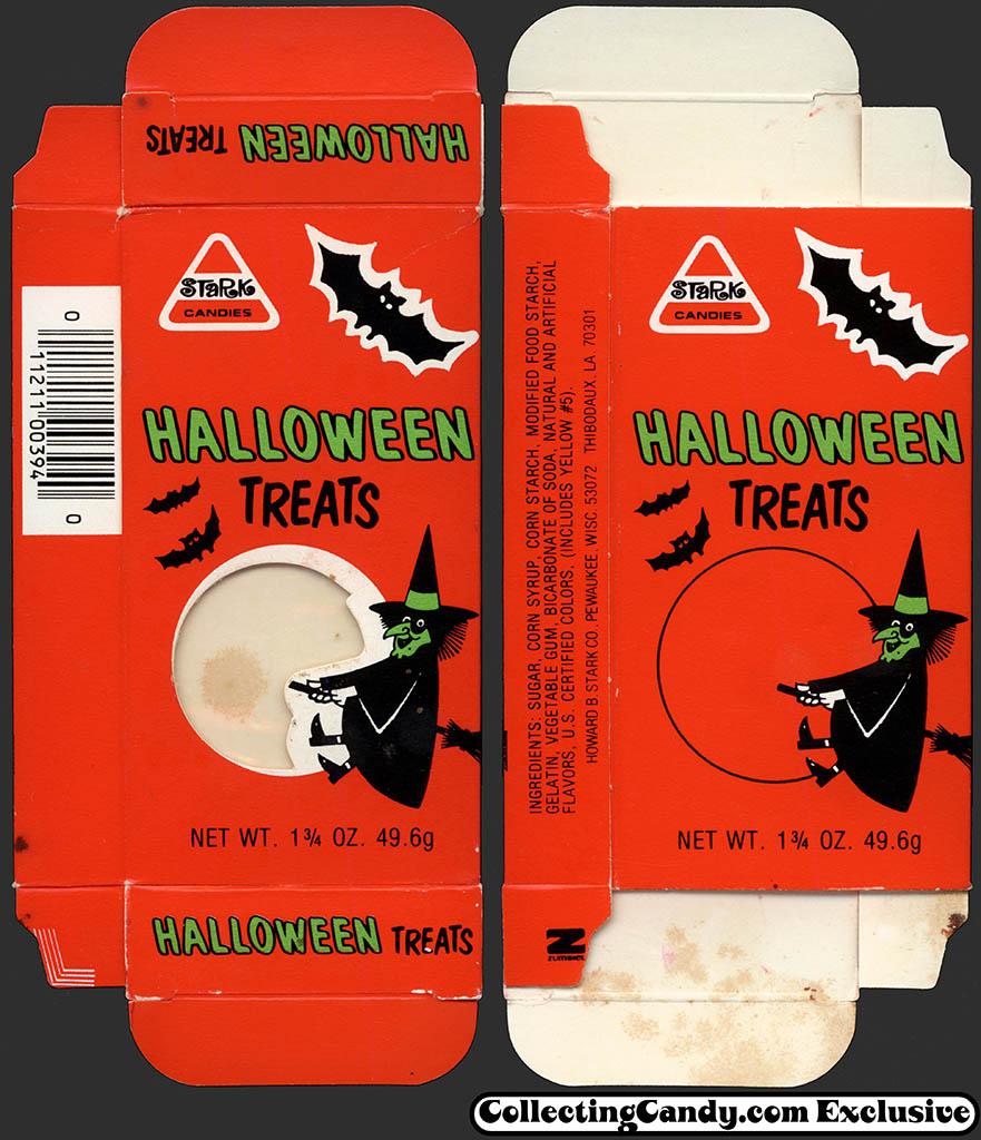 Stark - Halloween Treats 1 3/4 oz candy box - 1985