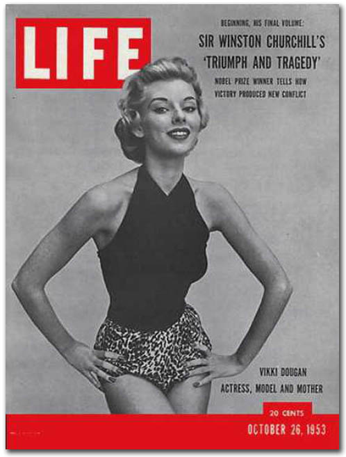 Life Magazine cover - October 26 1953 - Source CoverBrowser_com