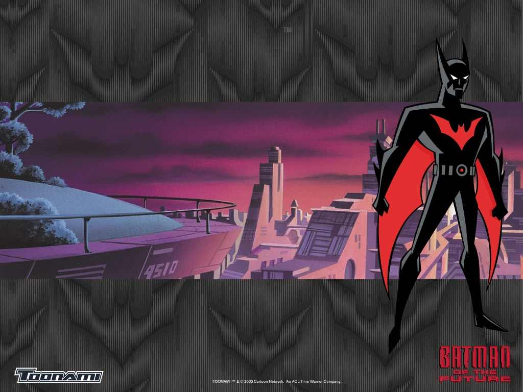 Batman Beyond promotional wallpaper - Source Warner Brothers