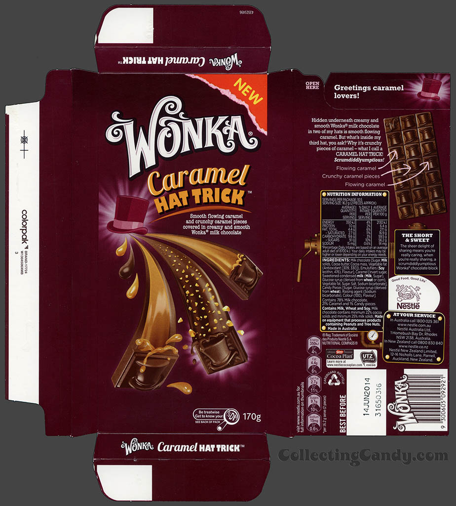 Australia's Awesome New Wonka Bars for 2013! | CollectingCandy.com