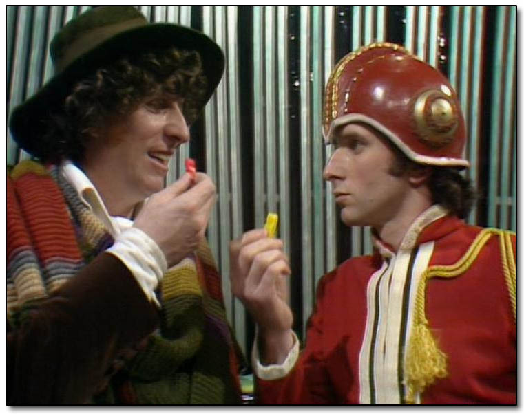 Doctor Who - Tom Baker - and his Jelly Babies