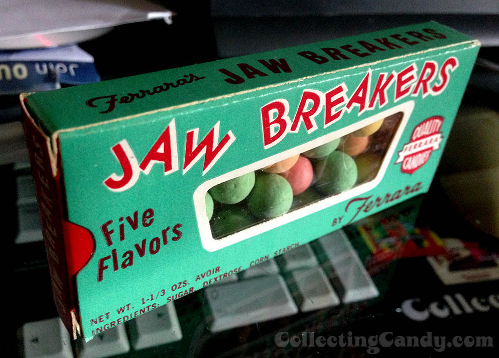 Ferrara Pan Jaw Breakers unopened box - 1960's