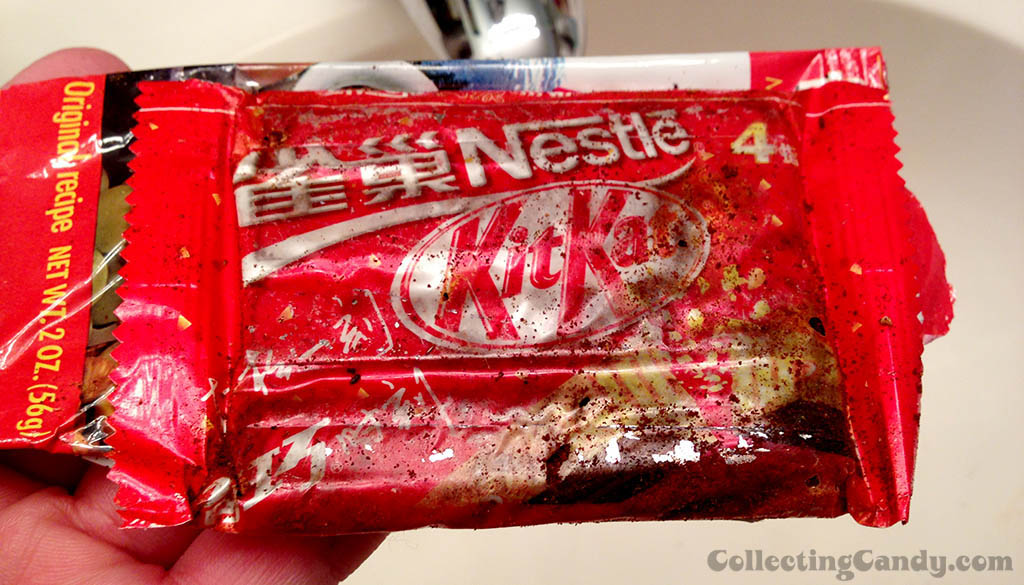 Nestle Kit Kat from Asia - rotten and worn - 1980's or 1990's