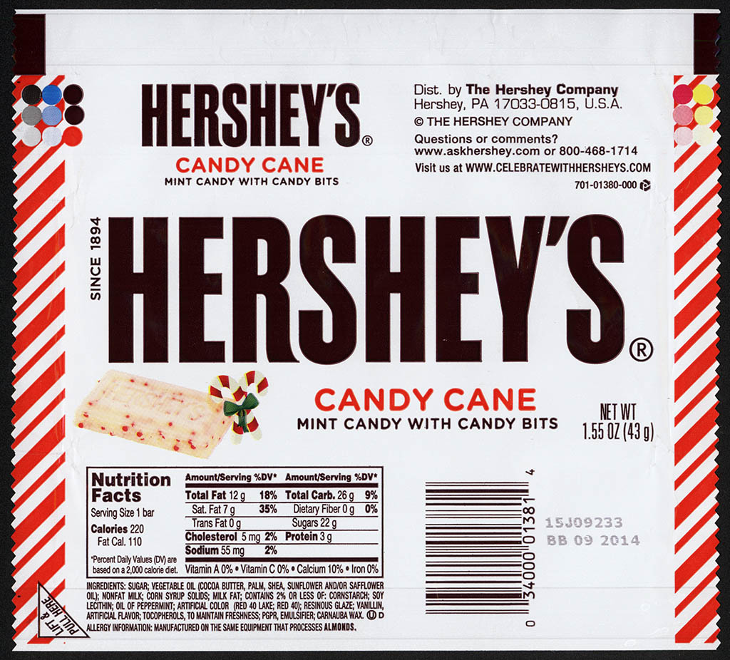 Twelve Days of Christmas: Hershey's New Candy Cane Bar ...
