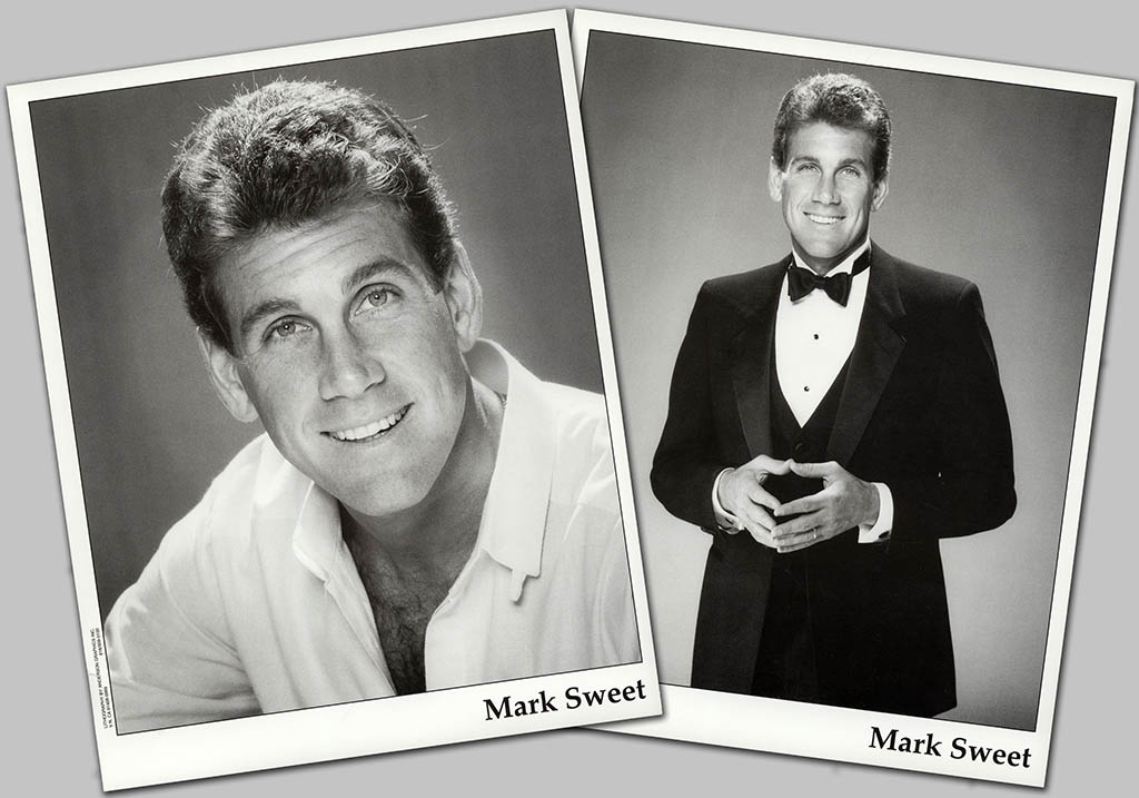 Mark Sweet headshots circa 1990