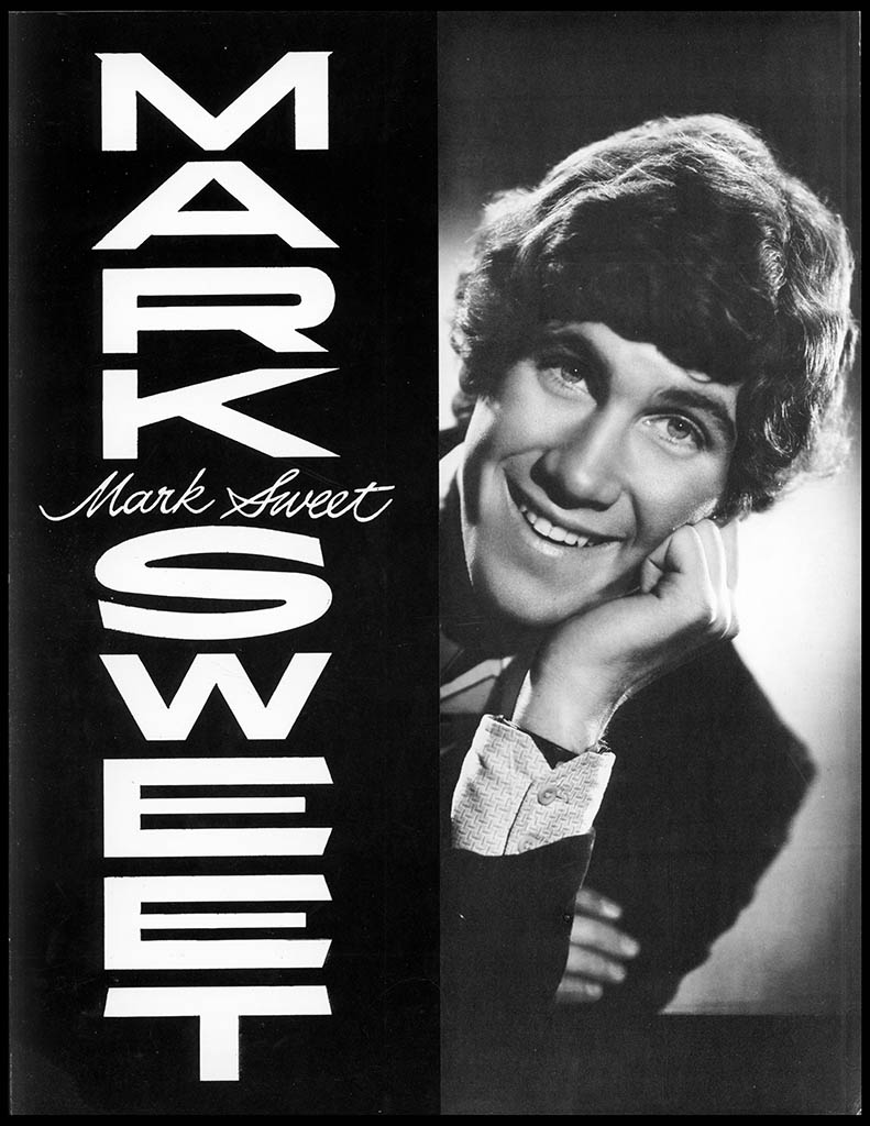 Mark Sweet pre-Wonka publicity brochure - Cover