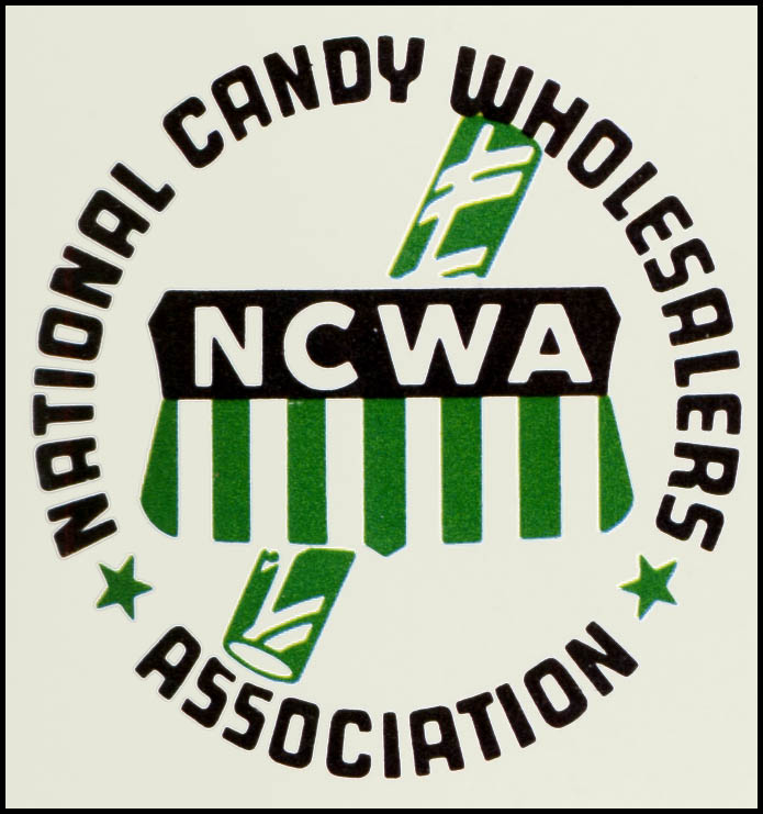 NCWA - National Candy Wholesalers Association logo - 1972