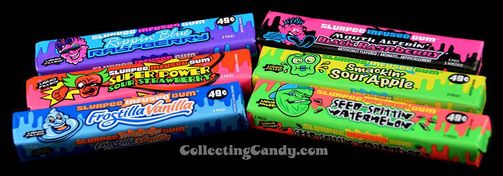 7-Eleven Slurpee-Infused gum packs - final look