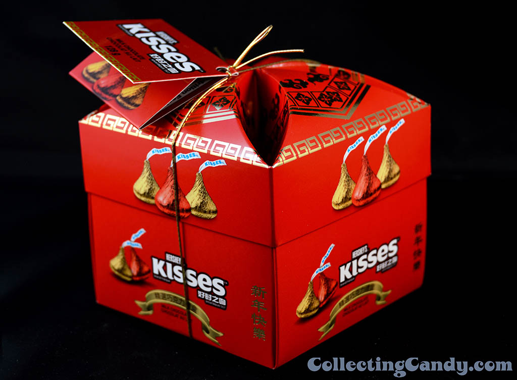 Canada - Hershey - Hershey's Kisses - Chinese New Year celebration box - January 2014