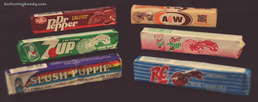Aumurol's 1980's beverage-inspired gum line