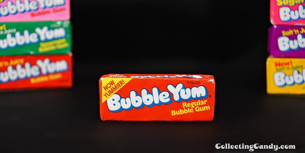 Bubble Yum - Now Yummier - Regular -  bubble gum unopened pack - 1970's