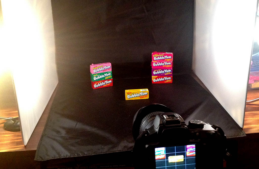 Bubble Yum Packs of the 70's - behind-the-scenes
