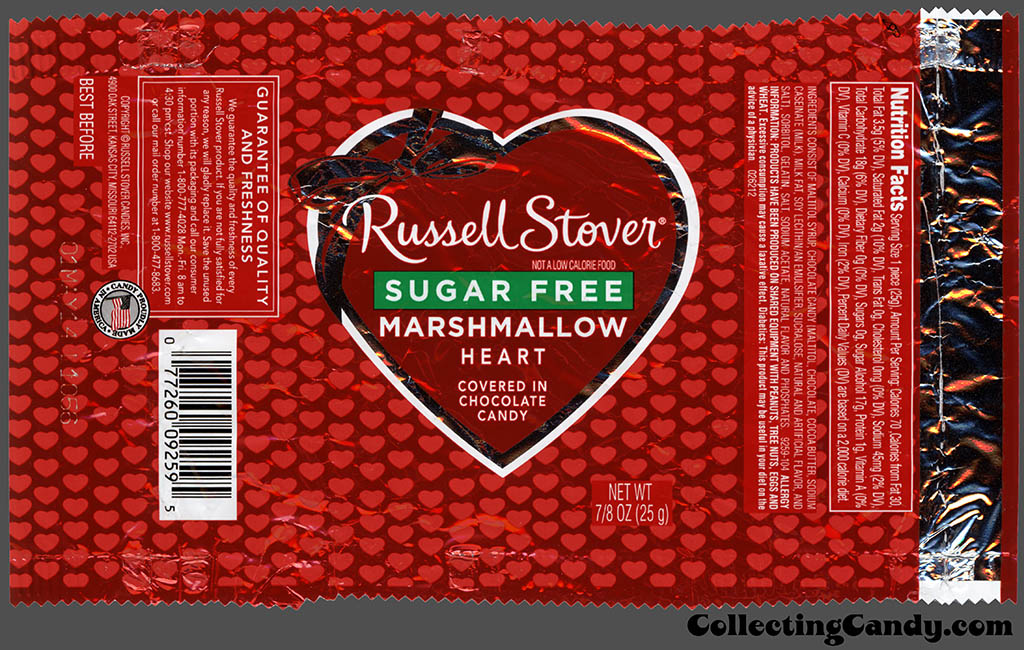 Russell Stovers Rich Variety Of Valentines Hearts