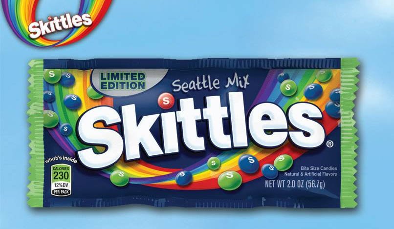 Skittles Seatle Mix promotional image - February 2014