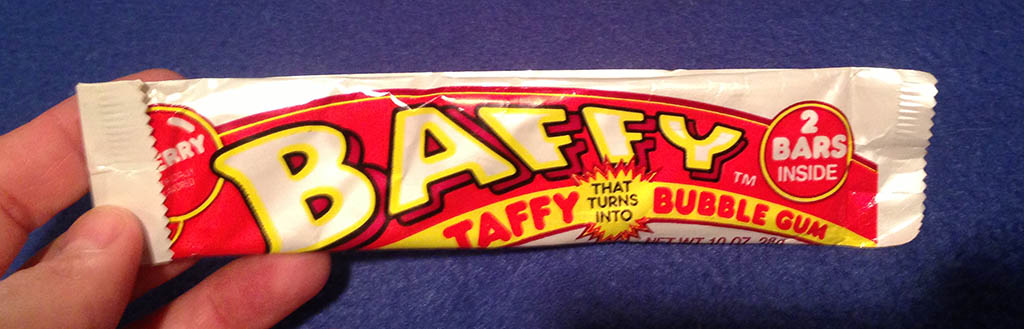 Amurol Baffy Taffy Bubblegum unopened pack photo
