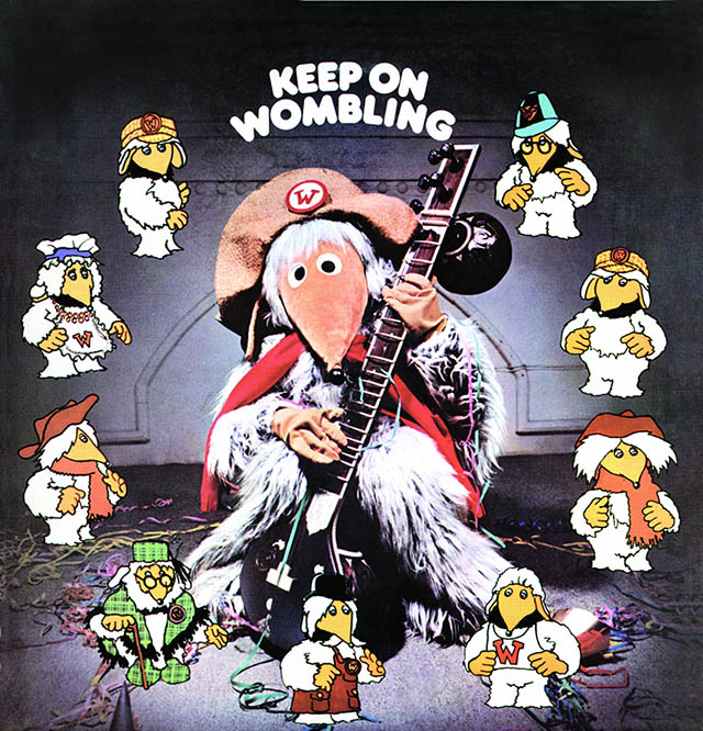 Keep_on_Wombling_1974 album cover - Source RepublicMedia.net