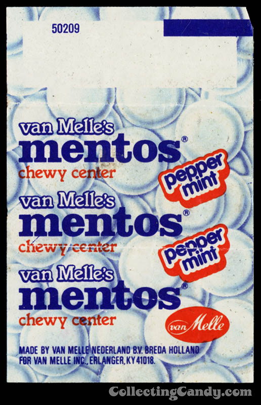 Mentos Mini Rolls Mini Roll Mint Candy