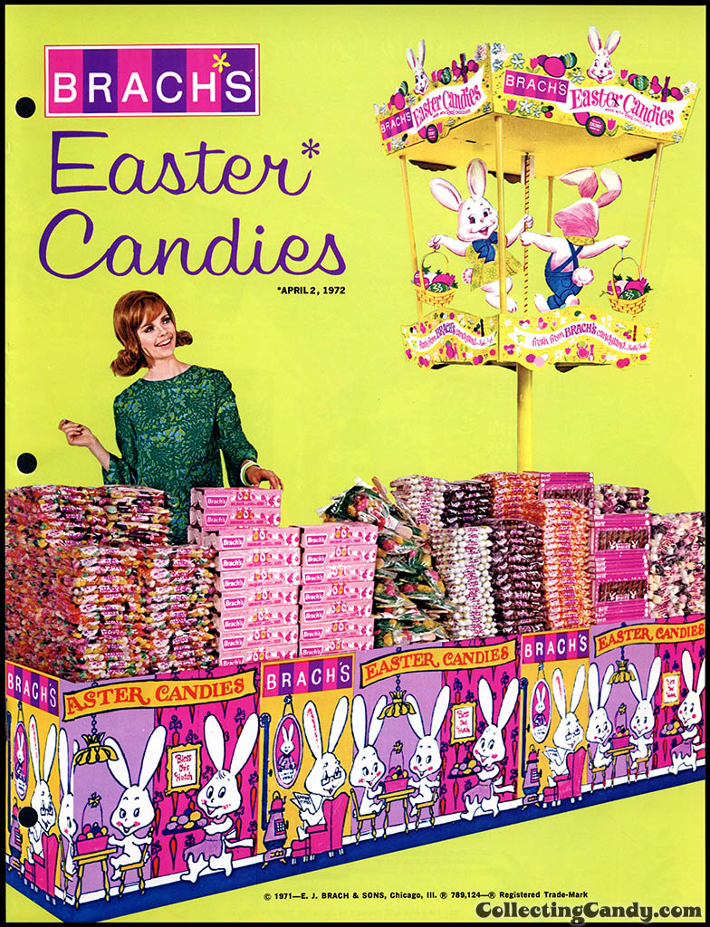 Brach's - Easter Candies - candy product catalog - Page 01 - April 1972