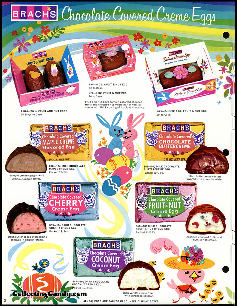 Brach's - Easter Candies - candy product catalog - Page 02 - April 1972