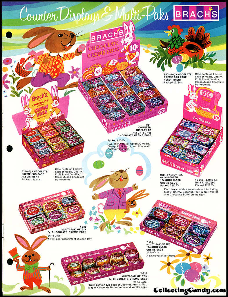 Brach's - Easter Candies - candy product catalog - Page 03 - April 1972