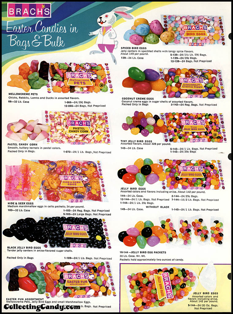 Brach's - Easter Candies - candy product catalog - Page 04 - April 1972