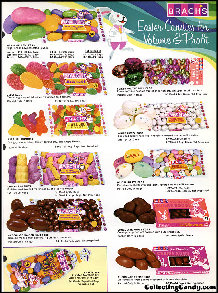 Brach's - Easter Candies - candy product catalog - Page 05 - April 1972